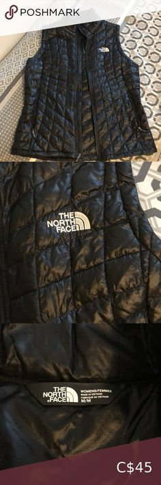 The North Face vest Vest, warm and light. Excellent for wearing underneath wool coats for extra warmth or a nice extra layer during a colder hiking day. Barely worn, excellent condition The North Face Jackets & Coats Vests North Face Vest, North Face Fleece, North Face Women, The North Face, Fleece Vest, Knit Vest, Lululemon Shirts, Wool Coats, Vintage Leather Jacket