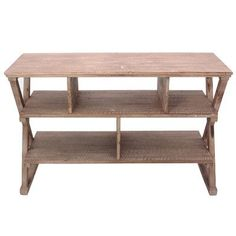 Crestview Cheyenne Media Console Table