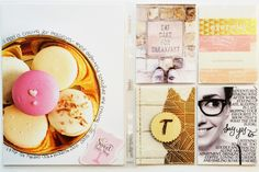 the single girl's scrapbook: Project Life: October Five Project Life 6x8, Project Life Scrapbook, Project Life Layouts, Project Life Cards, Pocket Scrapbooking, Diy Craft Projects, Crafts, Craft Ideas, Print Layout