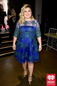 Kelly Clarkson at the iHeartRadio Music Awards which broadcasted live on NBC from the Shrine Auditorium in Los Angeles on March 29. (Photo: Getty Images for iHeartRadio)