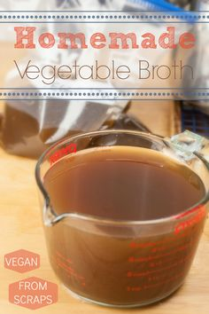 Produce On Parade - Homemade Vegetable Broth