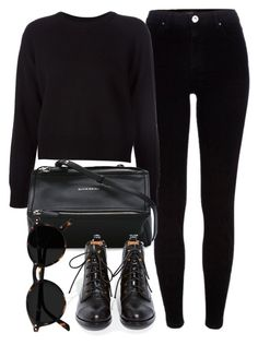 """Untitled #7076"" by laurenmboot ❤ liked on Polyvore featuring River Island, T By Alexander Wang, Givenchy and Jeffrey Campbell"