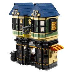 LEGO Harry Potter Diagon Alley 10217 (Discontinued by manufacturer) Harry Potter Diagon Alley, Harry Potter Wizard, Lestrange Harry Potter, Bellatrix Lestrange, Lego Hogwarts, Buy Lego, Lego Lego, Lego Moc, Lego Modular