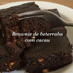 """343 curtidas, 26 comentários - Gourmetzinho do Miguel (@gourmetzinhodomiguel) no Instagram: """"Boa noite!! Segue o 📽 dessa deliciosa receita dos brownies de beterraba com cacau que eu preparei…"""""""