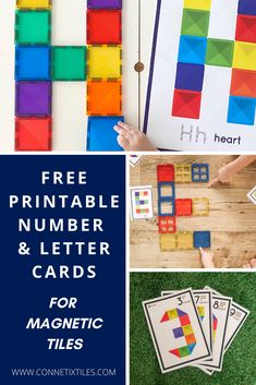 Connetix magnetic tile free printable challenge cards are a great teaching resource that can be used for fun and learning at home or in the classroom. These free printables come in three different desgins to challenge all age levels and encourage learning through play. Click here to download a set now.