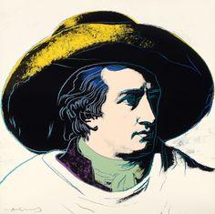 Andy Warhol, Goethe, 1982, Auktion 1060 Zeitgenössische Kunst, Lot 654