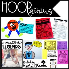Drawing Conclusions with Hoop Genius, Students learn about the invention of Basketball and some legends!