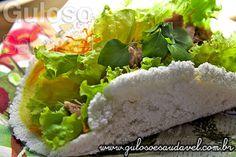 Sanduíche de Tapioca com Atum » Receitas Saudáveis, Sanduíches » Guloso e Saudável
