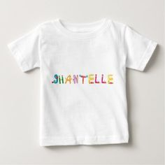 Shantelle Baby T-Shirt - birthday gifts party celebration custom gift ideas diy