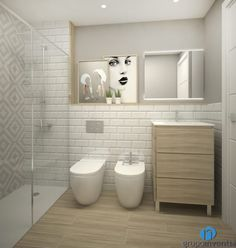 Small Shower Room, Small Showers, Small Bathroom, Kitchen Room Design, Toilet Design, Beautiful Bathrooms, Interior Architecture, House Styles, Home Decor