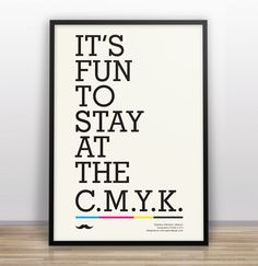 Typographic Joke Posters - Design - ShortList Magazine