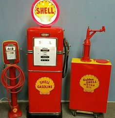 Restored Original Shell Service Station Collection