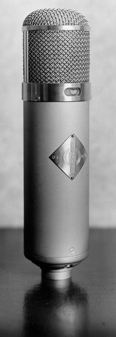 This little unit costs more than most cars I've owned but it's the mother ship of microphones...the U47. Someone once mentioned there's a lot of cool things associated with the number 47...true?
