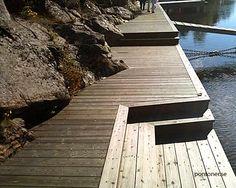 Lake Dock, Boat Dock, Docks Lake, Cottage Living, Cottage Style, Lake Landscaping, Boat Shed, Haus Am See, Summer Cabins