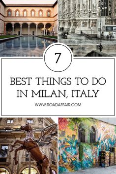 Discover the best things to do in Milan, Italy, including Duomo di Milano, Galleria Vittorio Emanuele, and La Scala Theatre.