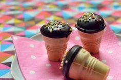 Mädchenkram: Mini Muffins im Waffelbecher
