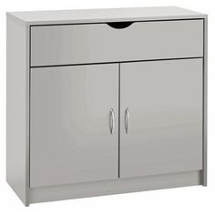 Buy HOME Maine 2 Door 1 Drawer Sideboard - Grey at Argos.co.uk - Your Online Shop for Sideboards and dressers, Living room furniture, Home and garden.