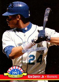 1993 Ken Griffey Jr, Mariners, 1 Donruss Insert #LL-9,