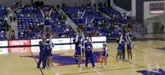 Jaguar Cheerleading during halftime of a men's basketball home game!