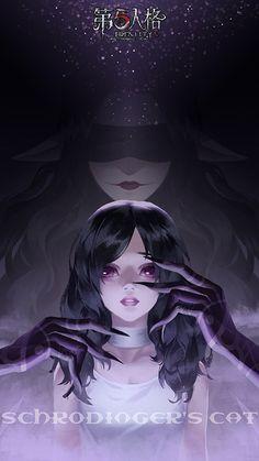 Kai Fine Art is an art website, shows painting and illustration works all over the world. Dark Anime Girl, Anime Girl Neko, Anime Art Girl, Kawaii Anime, Gothic Anime Girl, Fantasy Girl, Dark Fantasy, Character Inspiration, Character Art
