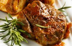 Clafoutis with cranberries - Healthy Food Mom Pork Recipes, Gourmet Recipes, Crockpot Recipes, Healthy Recipes, Osso Bucco Porc, Pork Mushroom, Tesco Real Food, Oven Dishes, Recipes
