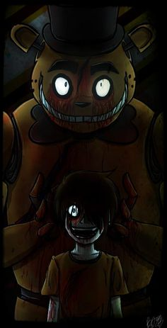 I'm the one in the animatronic always making him so happy...