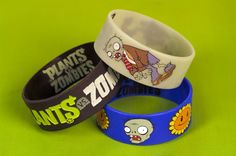 Plants vs. Zombies wrist bands