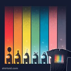 Rainbow Game | Shirtoid #amongus #gaming #impostor #valevfkff #vallina84 #videogame