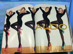 an ALDO ad from Vogue Sept 2011 issue I liked
