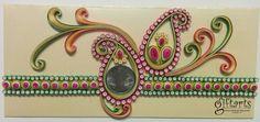 Ornamental Quilling Envelope