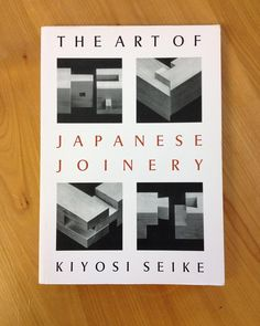 We finish Friday with this great book from the student library on Japanese Joinery. #woodwork #woodlibraryfriday #woodwork #woodworking #joinery #cabinetmaker #cabinetmaking #japanesejoinery #woodjoint #japanese #japanesetraditional by williamsandcleal