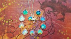 Dragon Necklace Dragon Scales Jewellery by FairyFountainGifts