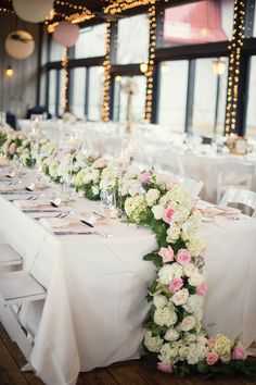 Pink Floral Tablescape   A Vintage Chic Wedding in Asheville, NC - Munaluchi Bridal Magazine
