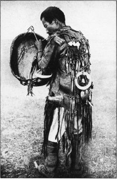 Photo of a Sakha shaman from the 1930's