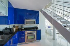 The open kitchen at this 2 bedroom Infinity Brickell condo for sale