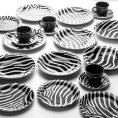Aparelho de Jantar Zebra