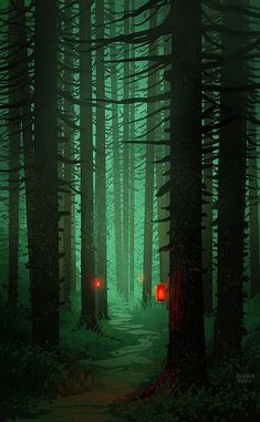 Super Tree Forest Illustration Pictures 49 Ideas Super Tree Forest Illustration Pictures 49 Id Fantasy Landscape, Landscape Art, Fantasy Art, Fantasy Concept Art, Fantasy Forest, Fantasy Places, Art Environnemental, Forest Illustration, Japanese Illustration