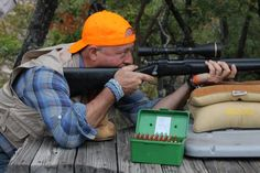 Andrew Zimmern takes target practice before a hunt at the Broken Arrow Ranch. See all of the action tonight on Bizarre Foods on the Travel Channel at Broken Arrow Ranch, Visit Austin, Andrew Zimmern, Target Practice, Travel Channel, Venison, Outdoor Life, Food Network Recipes, Behind The Scenes