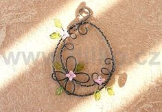 Wire Crafts, Easter Crafts, Crafts To Make, Flower Art, Jewlery, Wraps, Charmed, Drop Earrings, Bracelets