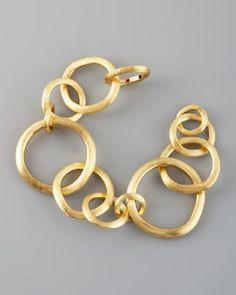 Gold Link Bracelet, Link Bracelets, Silver Bangles, Silver Necklaces, Silver Rings, Gemstone Bracelets, Jewelry Bracelets, Bracelet Charms, Wire Jewelry