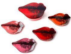 pop art dishes | ... Andy Warhol Lips pop art plate set could be ideal for your nibbles