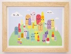 En un bosque como este, tenes un monton de gustos para elegir ! ! ! Bosque de helados, 29 cm x 22 cm. /( • ^ • ) \ Ahora podes adquirirlo a través de nuestra Tienda Online ! ! Pasa y descubrí todos nuestros productos !!! www.pomito.com.ar www.facebook.com/pomitopomito www.instagram.com/pomitopomito