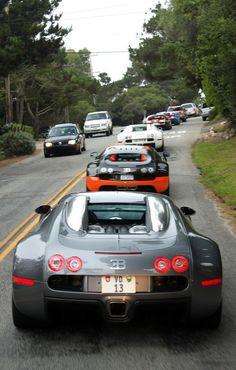 Bugatti Veyron Parade
