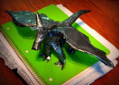 Duct tape dragon!!
