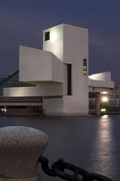 The Rock and Roll Hall of Fame and Museum is the centerpiece of Cleveland's North Coast Harbor. Designed by I.M Pei it is truly an architectural gem.