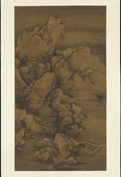 Yao Yanqing (Tingmei) (Chinese, ca. Traveling through Snow-Covered Mountains. The Metropolitan Museum of Art, New York. Ex coll. Wang Family, Gift of Oscar L. Korean Art, Asian Art, Chinese Painting, Chinese Art, Maker Culture, Image Painting, Chinese Garden, Metropolitan Museum, Art History