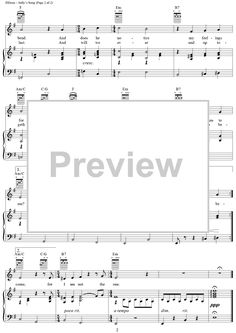 Sally's Song Sheet Music Preview Page 2