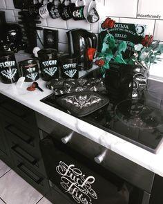 target home decor gothic decore Dark Home Decor, Goth Home Decor, Classic Home Decor, Hippie Home Decor, Target Home Decor, Home Decor Items, Gothic House, Cool Kitchens, Kitchen Decor