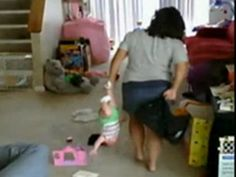 nanny cam helps stop child abuse. LOOK how she is handling that BABY. my heart bleeds. SICKENING. please report child abuse.