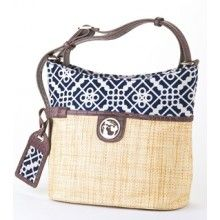 Sailor's Watch Straw Bucket - my favorite brand of purses. This is a new style. Love it.